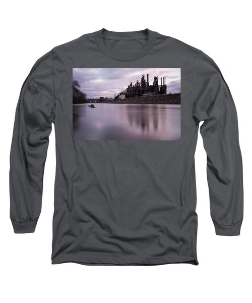 Bethlehem Steel Sunset Long Sleeve T-Shirt