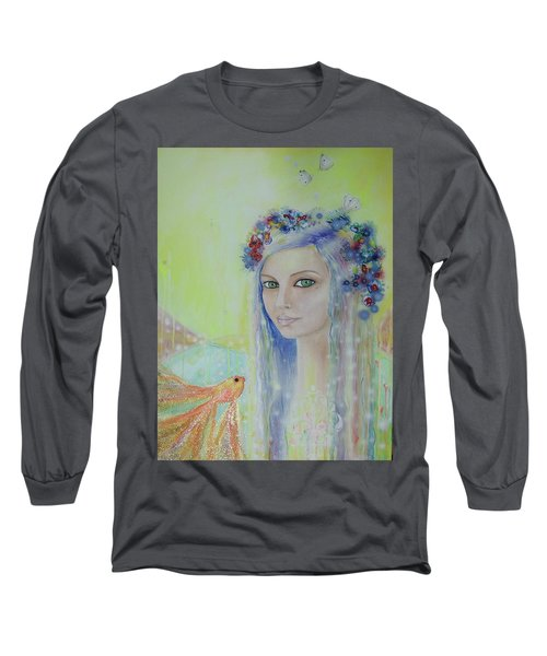 Between Heaven And Earth  Long Sleeve T-Shirt