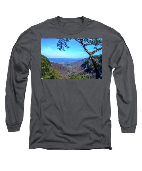 Between The Cliffs Long Sleeve T-Shirt