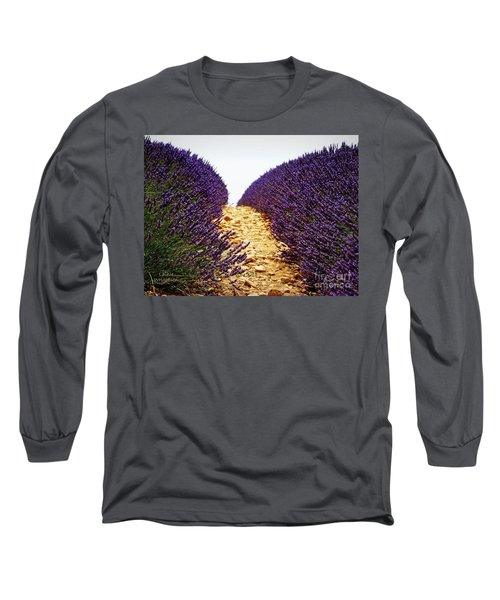 Between The Purple Long Sleeve T-Shirt