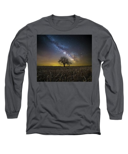 Long Sleeve T-Shirt featuring the photograph Beyond by Aaron J Groen