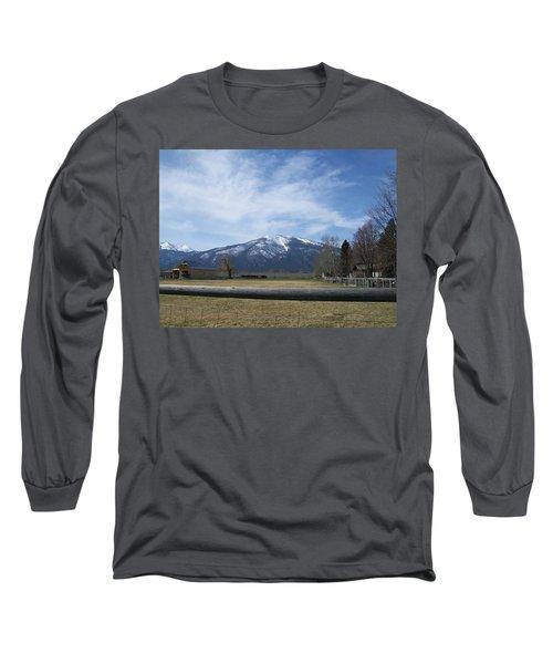 Beyond The Field Long Sleeve T-Shirt by Jewel Hengen