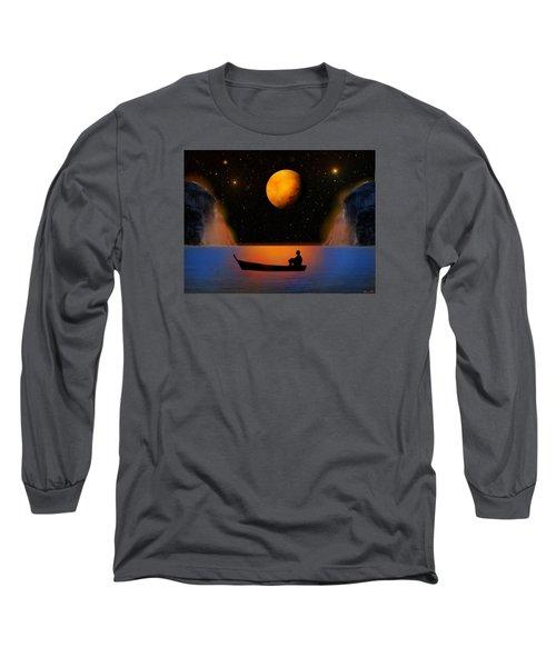 Long Sleeve T-Shirt featuring the photograph Beyond The Stars by Bernd Hau