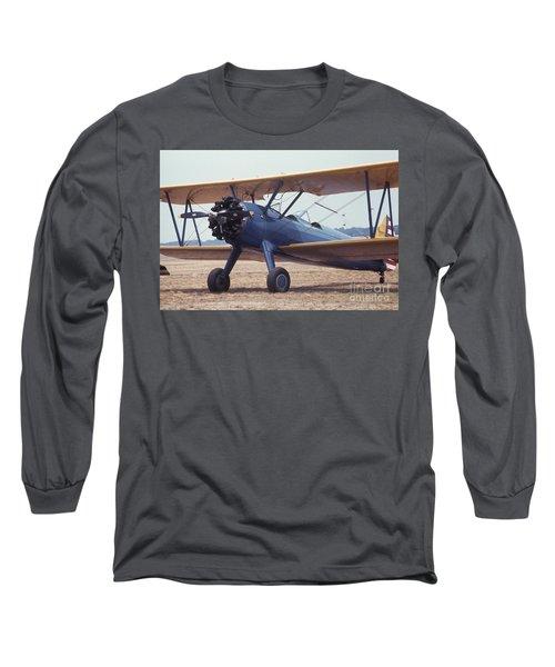 Bi-wing-8 Long Sleeve T-Shirt