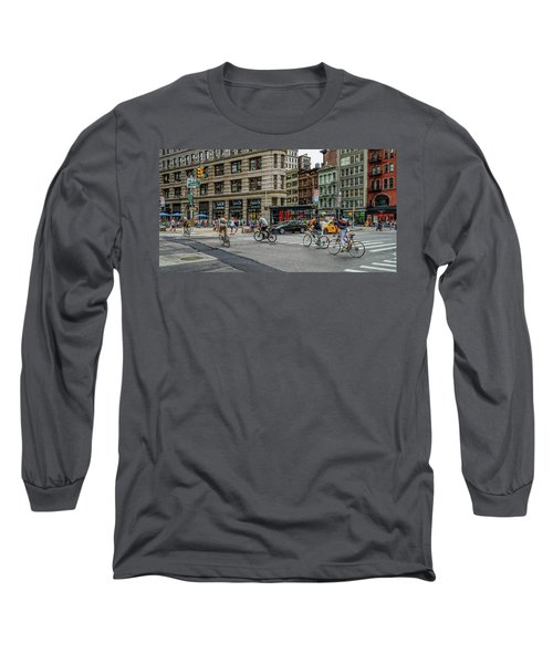 Bicycle Ballet  Long Sleeve T-Shirt by Jeffrey Friedkin