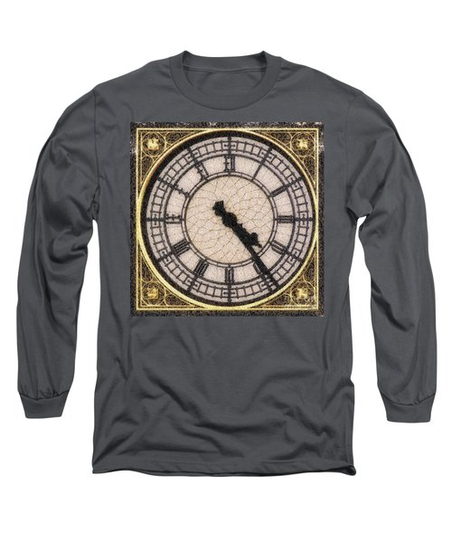 Big Ben Clock Color By Numbers 20161115 Long Sleeve T-Shirt