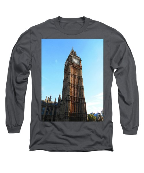 Big Ben Clock Tower At The Sunset Long Sleeve T-Shirt