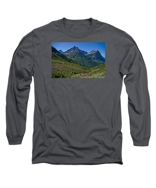 Big Bend, Glacier National Park Long Sleeve T-Shirt