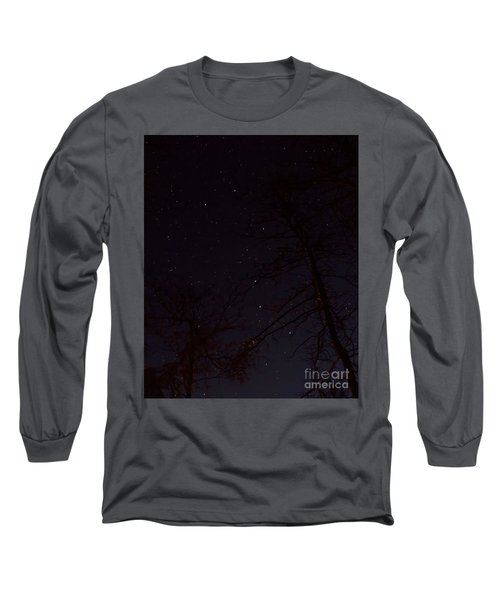Big Dipper Long Sleeve T-Shirt by Barbara Bowen