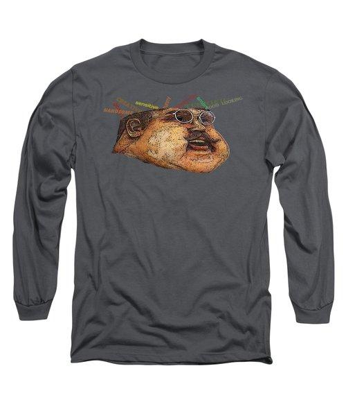 Big Guy Long Sleeve T-Shirt by David and Lynn Keller