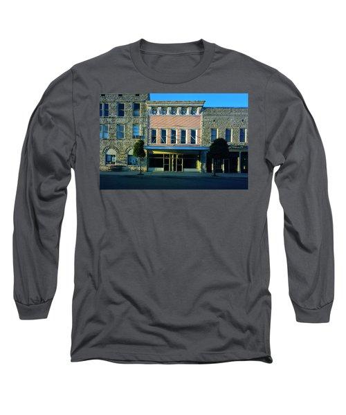 Big Pink, Corinth Long Sleeve T-Shirt by Jan W Faul
