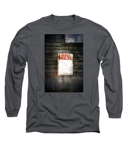 Big Red Long Sleeve T-Shirt by Newel Hunter