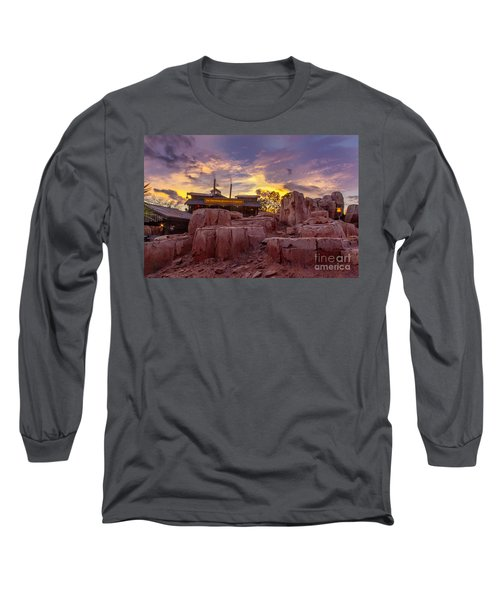 Big Thunder Mountain Sunset Long Sleeve T-Shirt