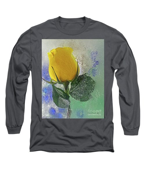 Big Yellow Long Sleeve T-Shirt by Terry Foster