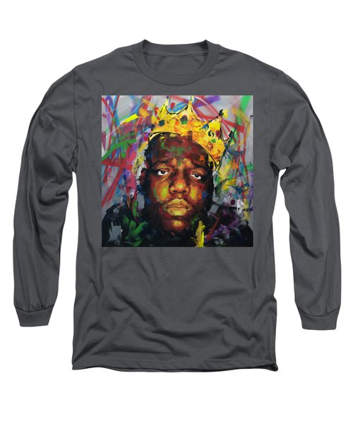 Biggy Smalls II Long Sleeve T-Shirt by Richard Day
