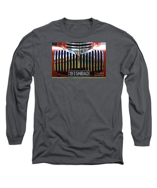 Bignbad Chevrolet Grille 01 Long Sleeve T-Shirt by Rick Piper Photography