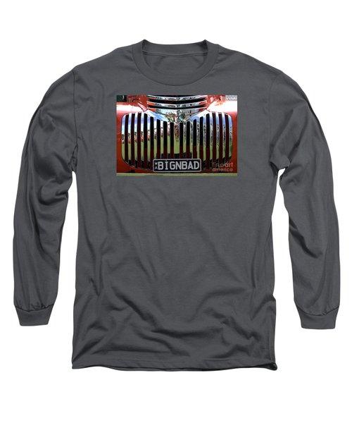 Bignbad Chevrolet Grille 01 Long Sleeve T-Shirt