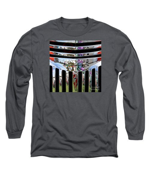 Chevrolet Grille 03 Long Sleeve T-Shirt by Rick Piper Photography
