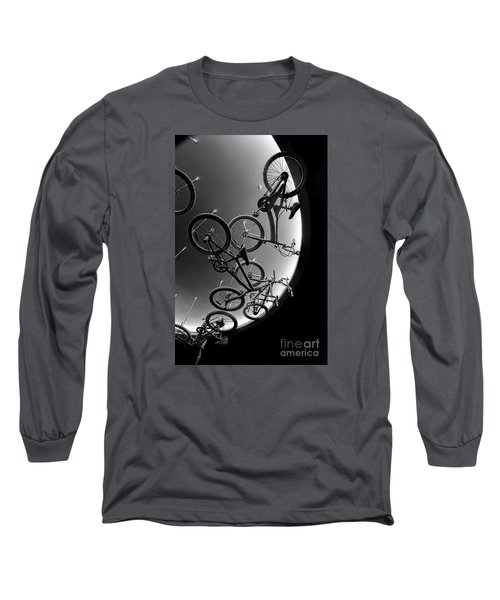 Long Sleeve T-Shirt featuring the photograph Bike Dreams by Trey Foerster