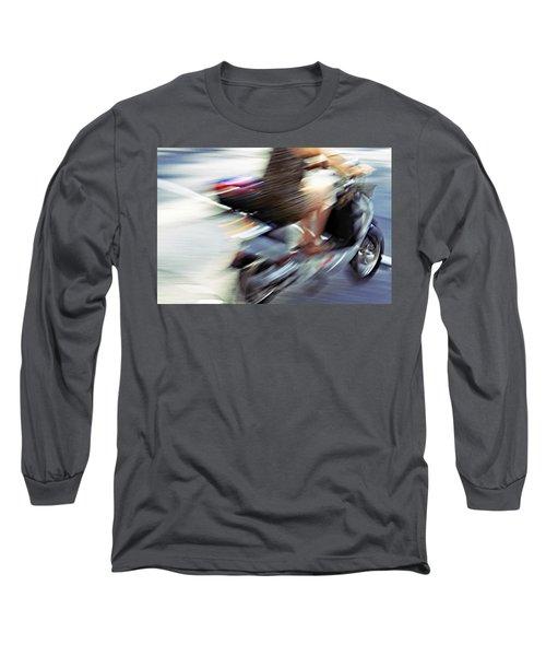 Bike In Motion Long Sleeve T-Shirt
