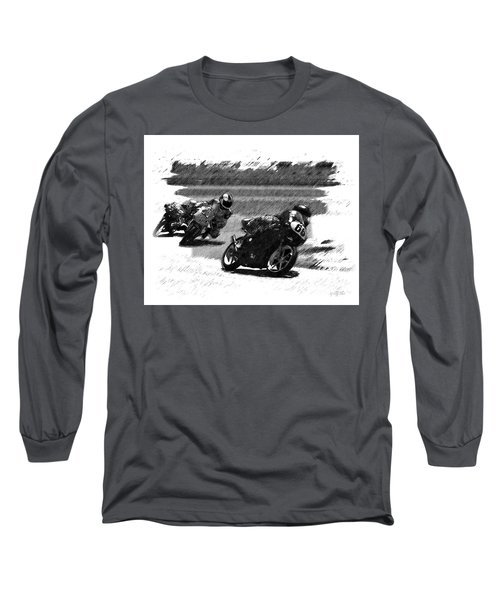 Biker Race Long Sleeve T-Shirt