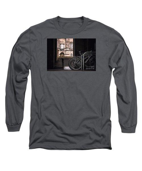 Bikes And University Long Sleeve T-Shirt