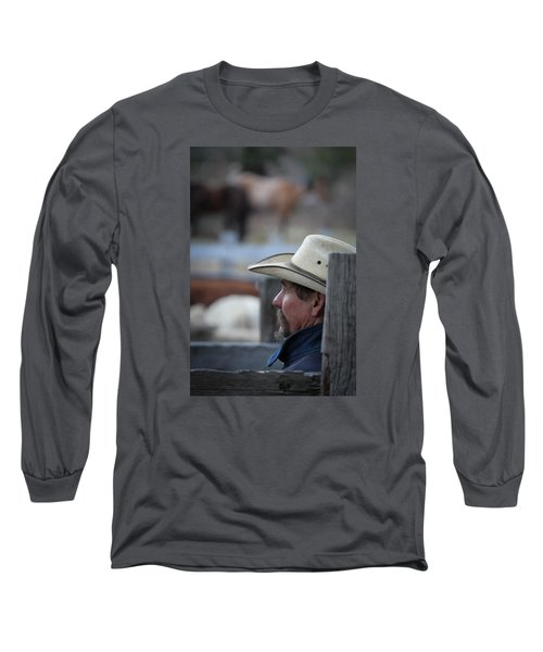 Bill Long Sleeve T-Shirt by Diane Bohna