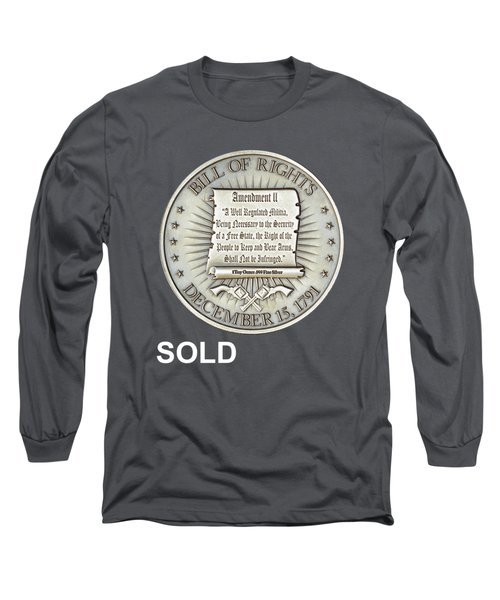 Bill Of Gun Rights Long Sleeve T-Shirt