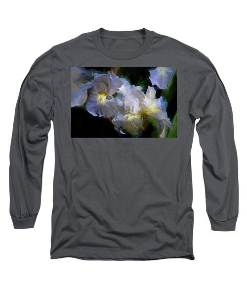 Billowing Irises Long Sleeve T-Shirt