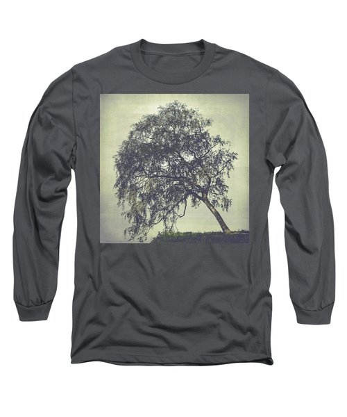 Long Sleeve T-Shirt featuring the photograph Birch In The Mist by Ari Salmela