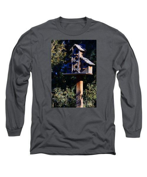Bird Condos Long Sleeve T-Shirt by Robert WK Clark