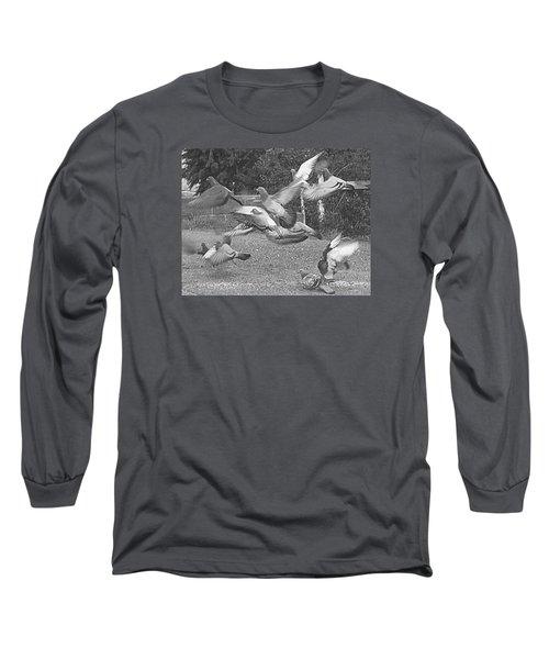 Bird Flurry Long Sleeve T-Shirt