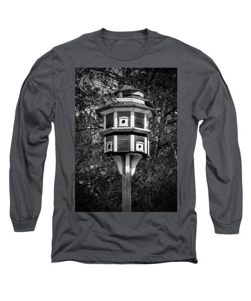 Bird House Long Sleeve T-Shirt by Jason Moynihan
