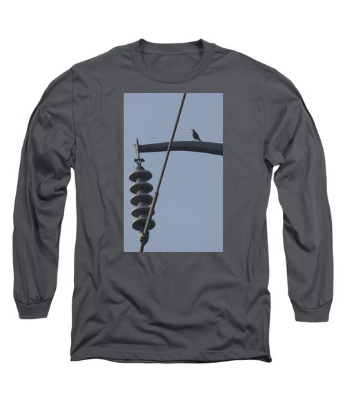 Bird On A High Wire Long Sleeve T-Shirt