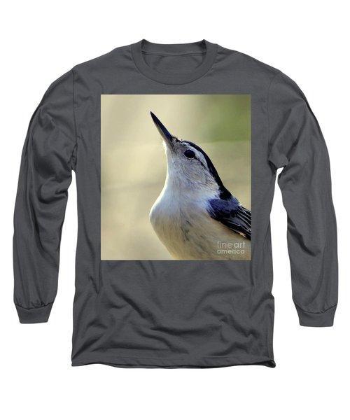 Bird Photography Series Nmb 6 Long Sleeve T-Shirt by Elizabeth Coats