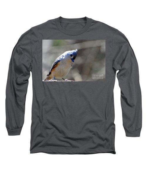 Bird Photography Series Nmb 7 Long Sleeve T-Shirt by Elizabeth Coats