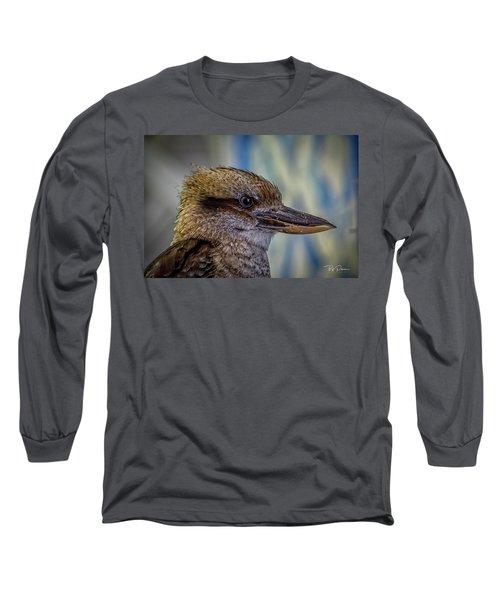 Bird Portrait Long Sleeve T-Shirt