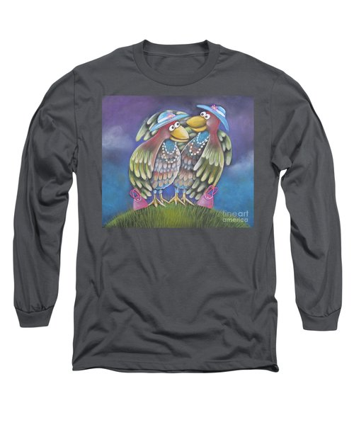 Birds Of A Feather Stick Together Long Sleeve T-Shirt