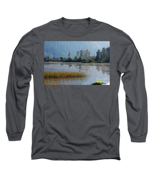 Birds Paradise Long Sleeve T-Shirt