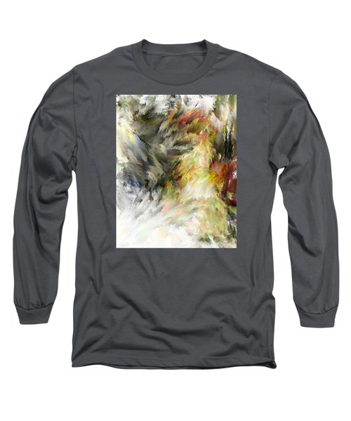 Birth Of Feathers Long Sleeve T-Shirt by Dale Stillman