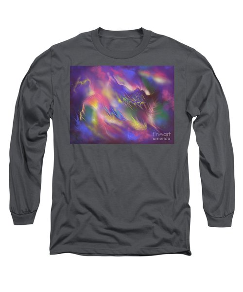 Long Sleeve T-Shirt featuring the digital art Birth Of The Phoenix by Amyla Silverflame