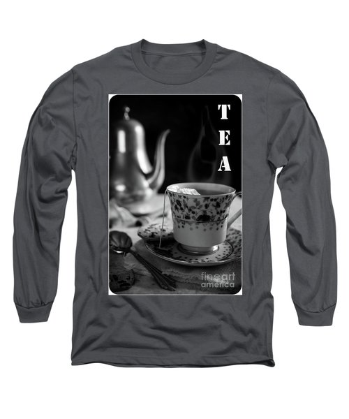 Long Sleeve T-Shirt featuring the photograph Biscotti And Tea by Deborah Klubertanz