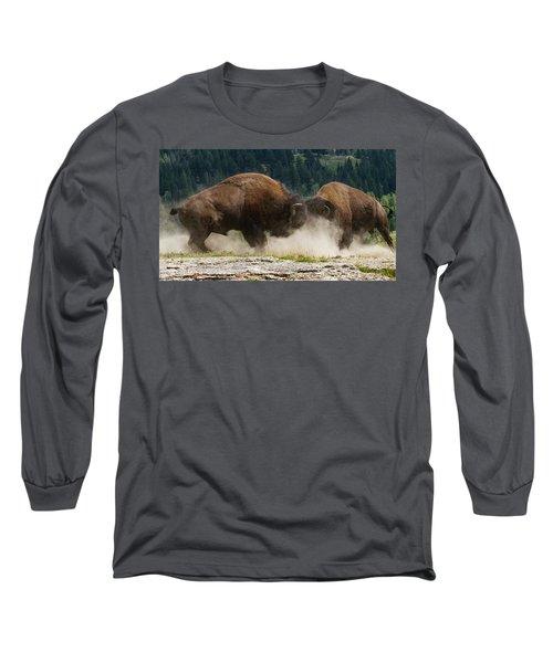 Bison Duel Long Sleeve T-Shirt