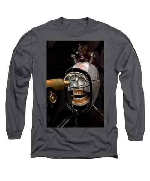 Bite The Bullet - Steampunk Long Sleeve T-Shirt