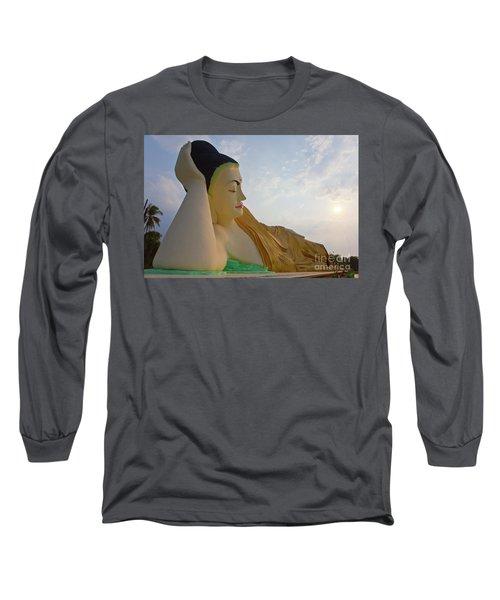 Biurma_d1836 Long Sleeve T-Shirt by Craig Lovell
