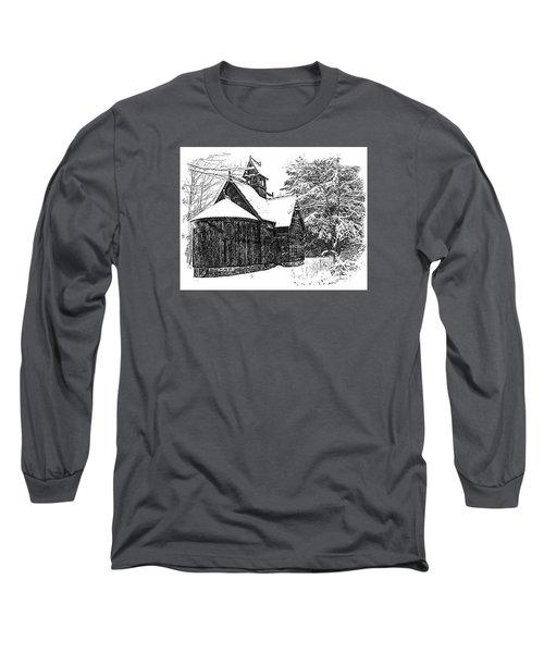 Boynton Chapel Long Sleeve T-Shirt by Jim Rossol