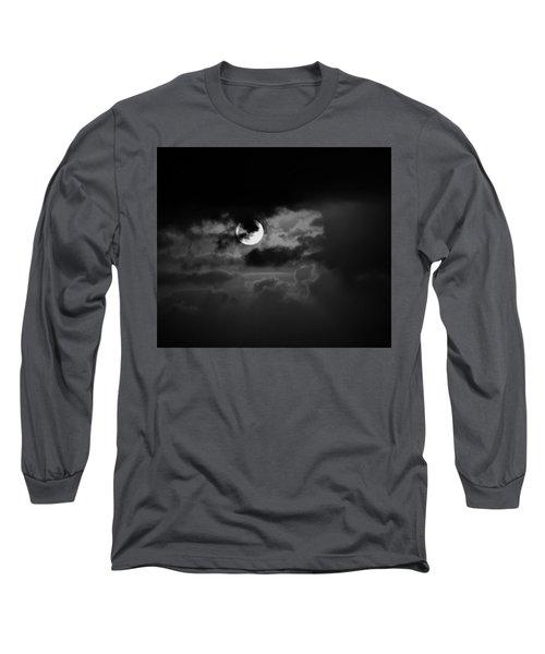 Black And Grey Long Sleeve T-Shirt by John Glass