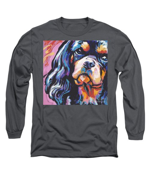 Black And Tan Cav Long Sleeve T-Shirt