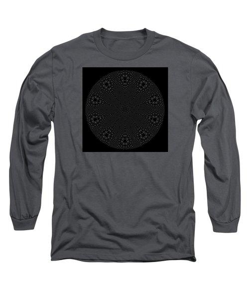 Long Sleeve T-Shirt featuring the digital art Black And White 3 by Robert Thalmeier
