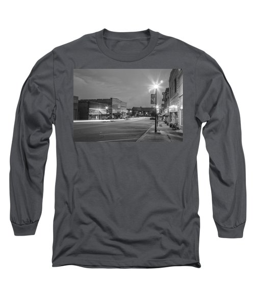 Black And White 31 Long Sleeve T-Shirt